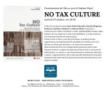 Presentazione del libro a cura di Stefano Monti NO TAX CULTURE