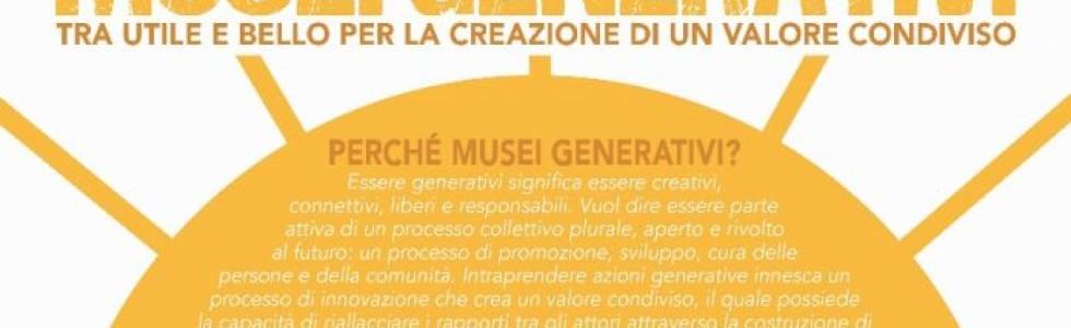 Monti&Taft all'eventoMusei generativi